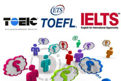 TOEIC - IELTS - TOEFL